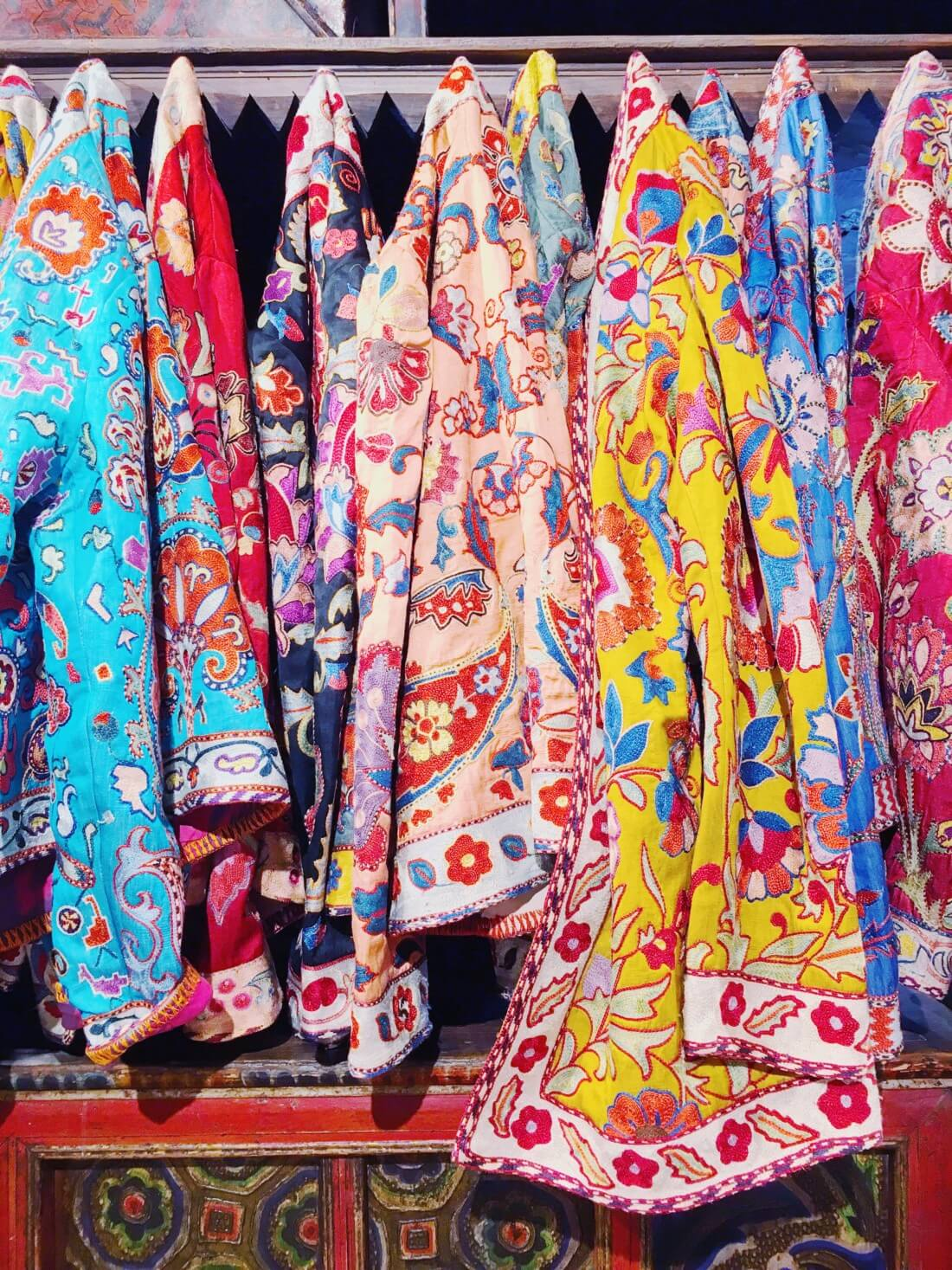 embroidered coats