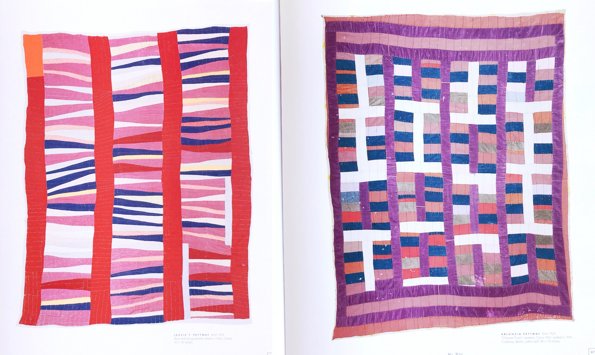 Quilts by Jessie T. Pettway and Arlonzia Pettway