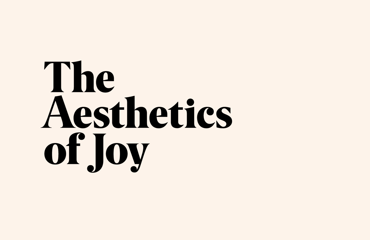 Image of: Romance Quotabulary The Aesthetics Of Joy By Ingrid Fetell Lee