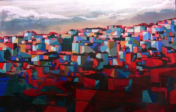 Painting an entire favela in rio de janeiro designboom 02