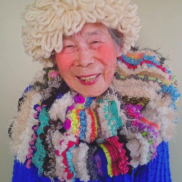93 year old grandma model instagram saori 1000weave chinami mori 10