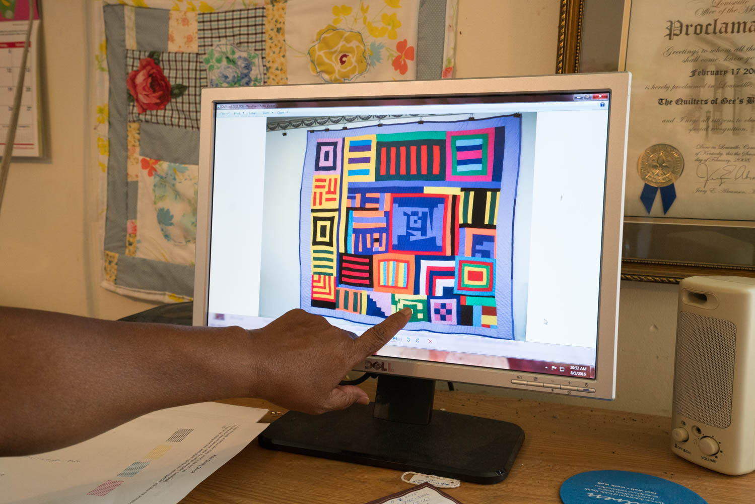 Gee's Bend Quilt for the Obamas
