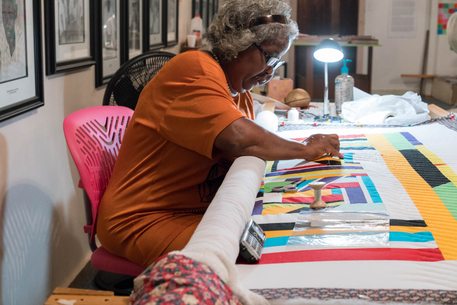 Mary Ann quilting