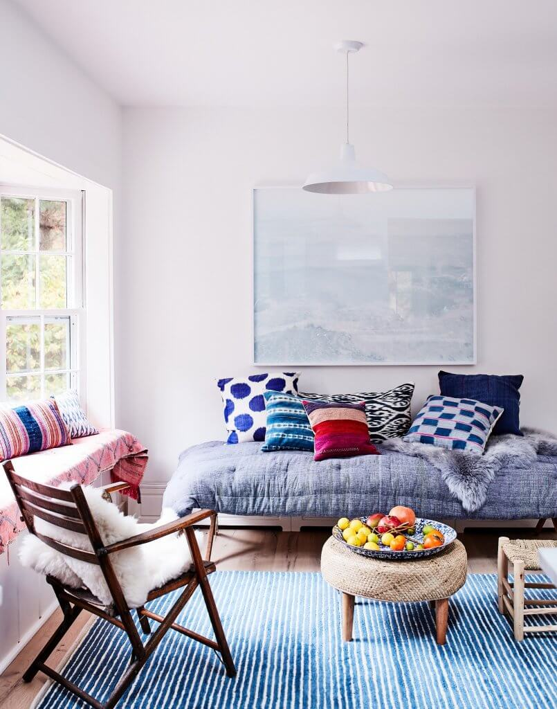 How to Lighten Up Your Home for Winter on The Aesthetics of Joy. 8 strategies to maximize light and beat winter blues. Image of Ingrid Fetell Lee's home, by Johnny Miller.