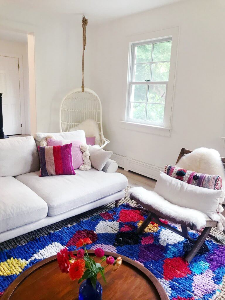 How to Lighten Up Your Home for Winter on The Aesthetics of Joy. 8 strategies to maximize light and beat winter blues. Image by Ingrid Fetell Lee.
