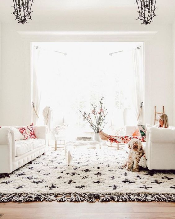 How to Lighten Up Your Home for Winter on The Aesthetics of Joy. 8 strategies to maximize light and beat winter blues. Image by Anthropologie.