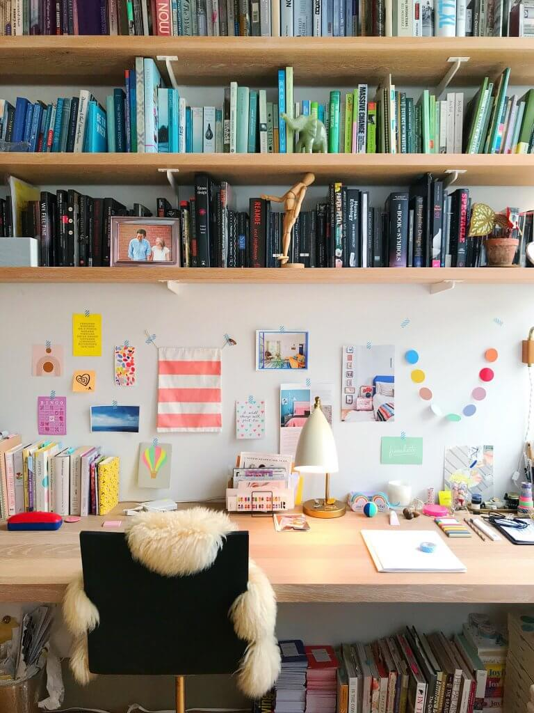 9 Ways to Make Working from Home More Joyful, by Ingrid Fetell Lee. If you're new to working from home, there's a lot of advice out there about how to stay productive and sane. But why not enjoyable too? In this post, I share ideas for creating a workspace and routines that will make working from home a true delight.