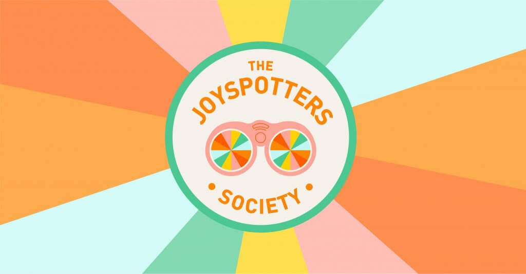 The Joyspotters Society is a new online community founded by Ingrid Fetell Lee of The Aesthetics of Joy, devoted to finding and sharing the things that make us light up inside. Join us at https://www.facebook.com/groups/joyspotting