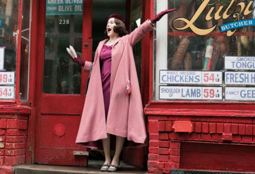 8 Joyful TV Shows to stream right now — from The Aesthetics of Joy. (Marvelous Mrs. Maisel)